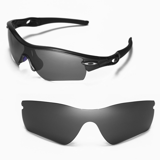Walleva Polarized Replacement Lenses for Oakley Radar Path Sunglasses 6 colors available
