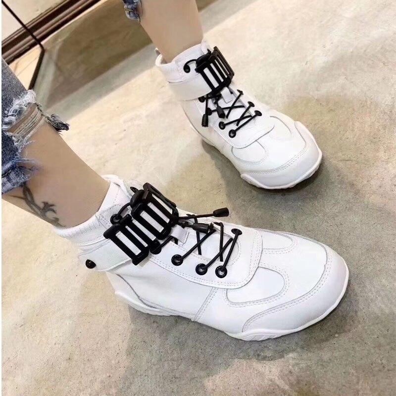 En Cuir Chaussures Modèle Femmes Marque Femelle Véritable White De Mix Couleur Confortable Modèles New Snearker Concepteur Luxe Fashional DY2eEWH9Ib