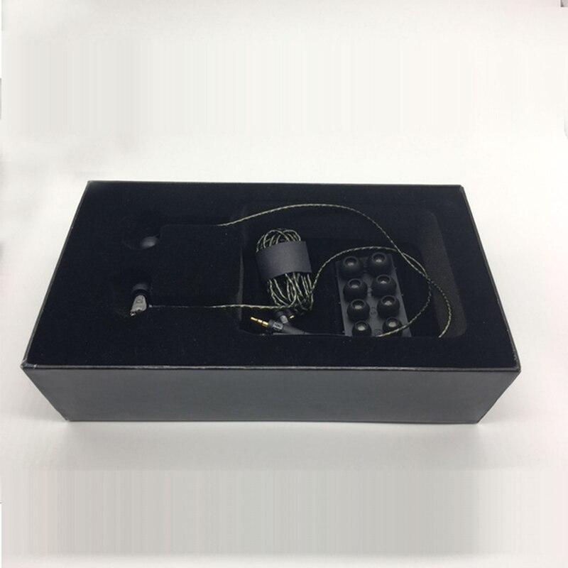 2018 new DIY de haute qualité dans l'oreille IE800 HIFI En Céramique Stéréo Auriculaire Meilleur Son écouteurs avec boîte pour MP3 mobile téléphone