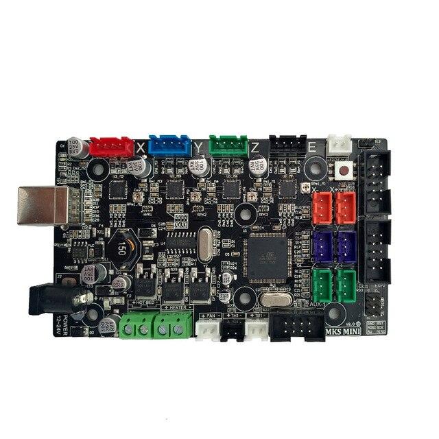 3D принтер материнская плата MKS MINI V2.0 diy стартовый набор интегрированная материнская плата совместимая Ramps 1,4 один экструдер