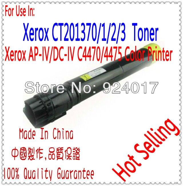 Refill Toner For  Xerox ApeosPort-IV C4470 C4475 AP-IV 4470 Copier,For Xerox CT201370 CT201371 CT201372 CT201373 Toner Cartridge