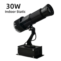H9 logo indoor gobo film projector projection spot light lamp advertising customized static design
