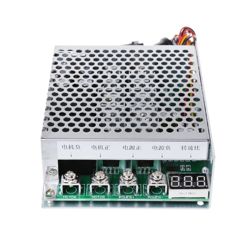DC 10-55V 100A Motor Speed Controller Reversible PWM Control Forward Reverse W329