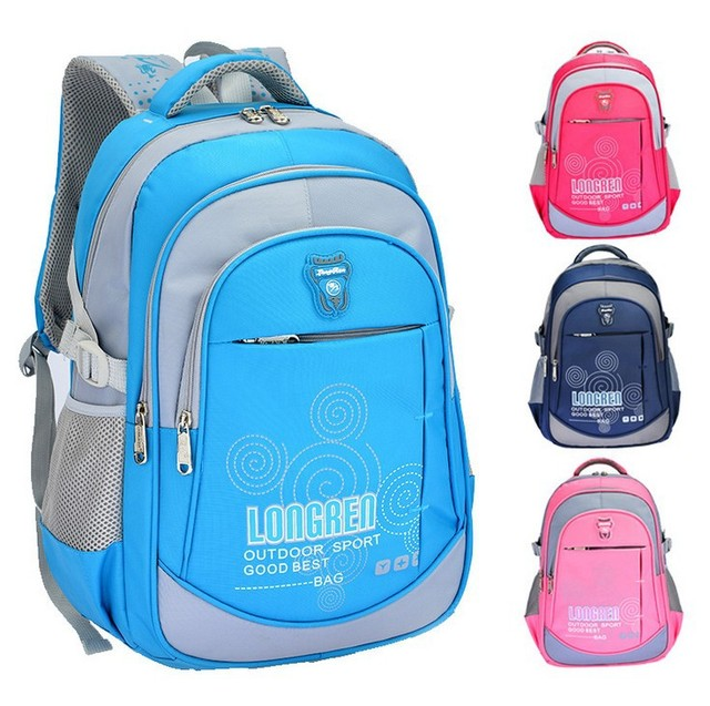 High Quality Nylon Backpacks Children's Mickey Printing Backpacks ...