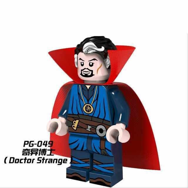 Super heróis os vingadores thor capitão américa ironman wolverine hulk justiça superman blocos de construção brinquedos