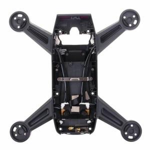 Image 4 - ללא מנוע Drone מסגרת תחביב שיכון חלפים שיפוץ התיכון מעטפת מתכת גוף כיסוי תיקון קל להתקין עבור DJI ניצוץ