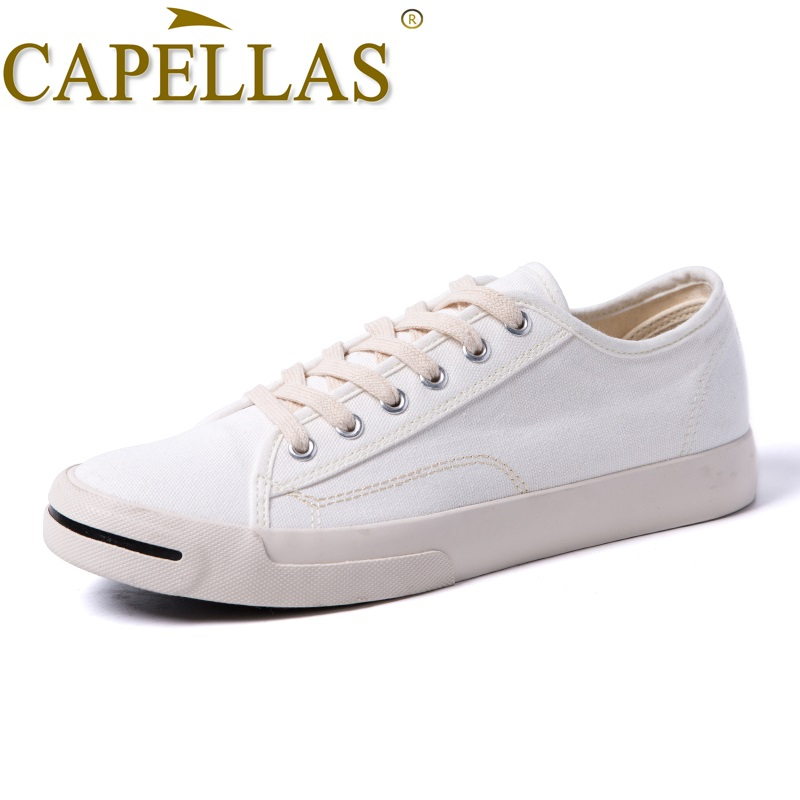 CAPELLAS Nieuwe Mens Casual Canvas Schoenen Mode Heren Canvas - Herenschoenen - Foto 3