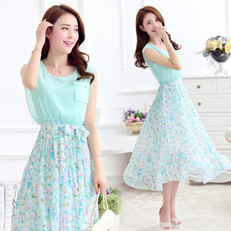 Fantastic Women Clothing Beautiful Summer Bohemian Dress Fashions Dresses Pink Chiffon Dress Short White ...