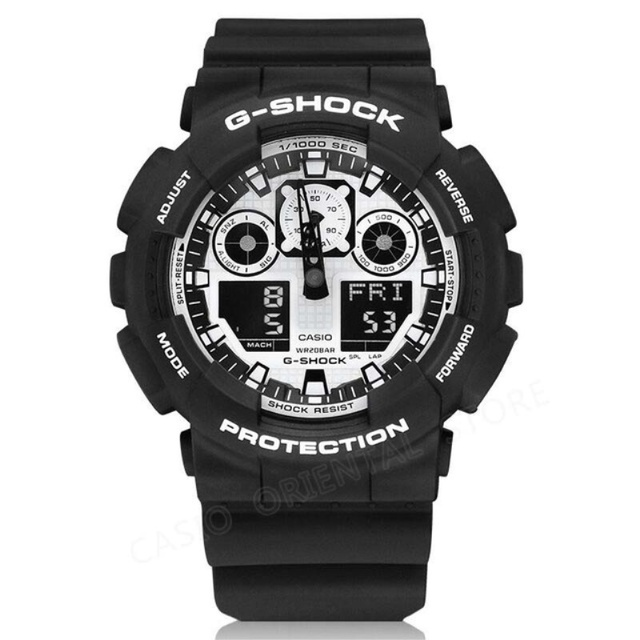 f376d5ac8dd CASIO G-SHOCK WATCH 200m Waterproof Diving Mens Watches Fashion Clock  Quartz Watch Male Relogio Masculino Mechanical GA-100BW-1A