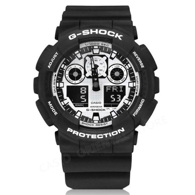 396b2532686 RELÓGIO CASIO G-SHOCK 200 m Mergulho À Prova D  Água Mens Relógios Moda