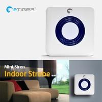 ETiger ES-S6A Drahtlose Innen Sirene 85dB sirene ist kompatibel mit jedem eTIGER Secual system Home Security