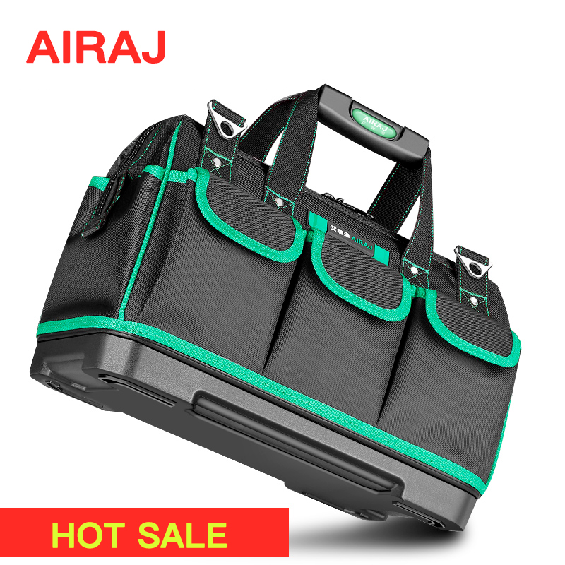 AIRAJ Bag Electrician-Bag Work-Pocket Thicken-Tool Canvas Multifunction Portable Large
