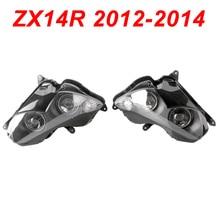 For 12-14 Kawasaki Ninja ZX14R ZX 14R Motorcycle Front Headlight Head Light Lamp Headlamp CLEAR 2012 2013 2014 brother ls 200s