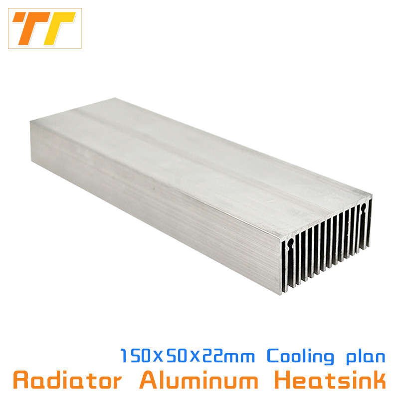 Heatsink Aluminum Heat Sink Radiator Cooling Cooler Fit LED Transistor IC 150x50mm 100x57mm Module Heat Dissipation for LED chip heatsink aluminum heat sink radiator cooling cooler fit led transistor ic 150x50mm 100x57mm module heat dissipation for led chip