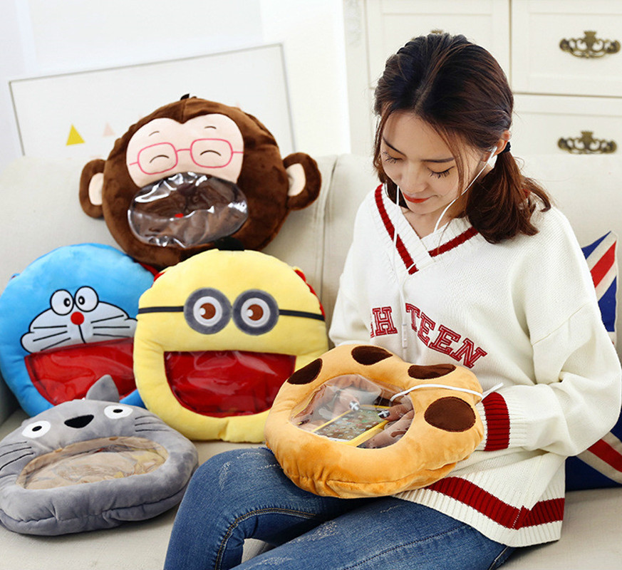 Cartoon Creative Visual Plush Toy Hand Warm To Intervene In Their Hands To Put Hot Water Bottle To Play Mobile Phone Hand Po warm plush detachable wash safety explosion proof hot water bottle plush turtle clown fish nemo