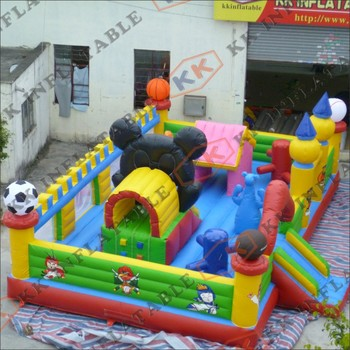 Good Quality Park Equipment Children Inflatable Toy Interesting Inflatable Fun City