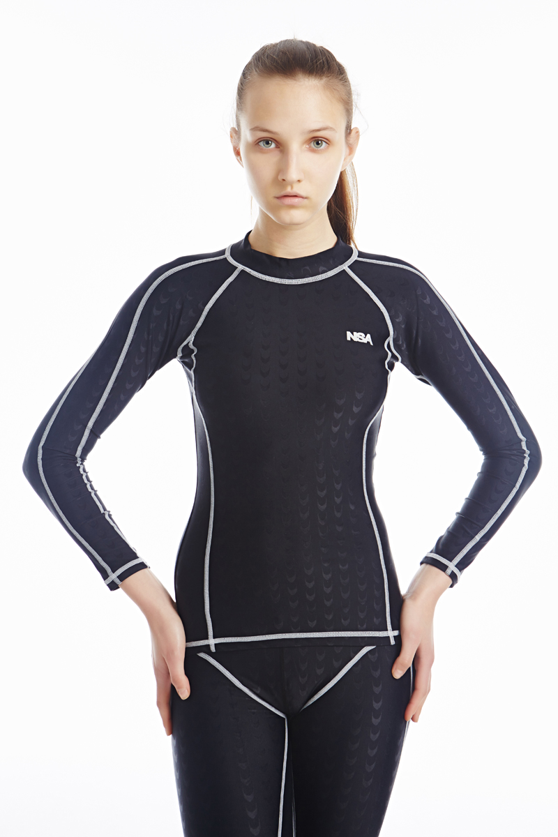 Professional Swimwear Women Swimsuit Sports Racing Competition Sexy Leotard Tight Lady Bodybuilding Bathing top and pant