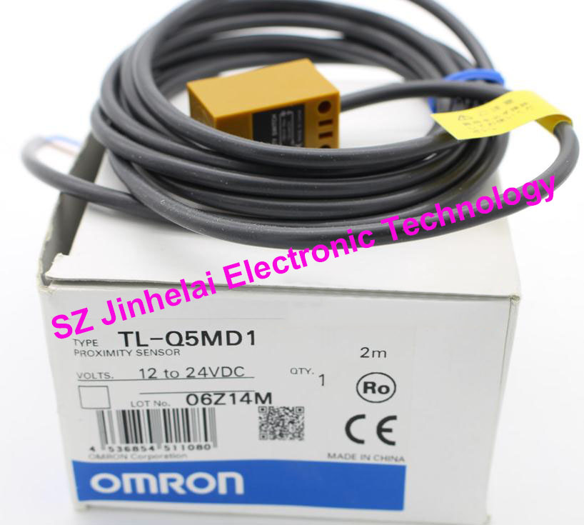 100% New and original OMRON Proximity switch, Proximity sensor  TL-Q5MD1   2M  12-24VDC [zob] 100% brand new original authentic omron omron proximity switch e2e x2mf1 z 2m