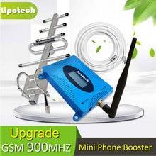 2017 Potente ACTUALIZACIÓN 65db 2G UMTS Repetidor Celular GSM 900 mhz Mini Teléfono 900 Mobile Booster de Señal Amplificador # azul