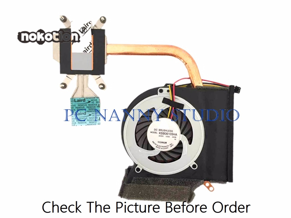 Nokotion For Edge 14 E40 15 E50 75y5995 Cooling Fan & Heatsink Assembly Radiator Cooler Working Numerous In Variety Fans & Cooling