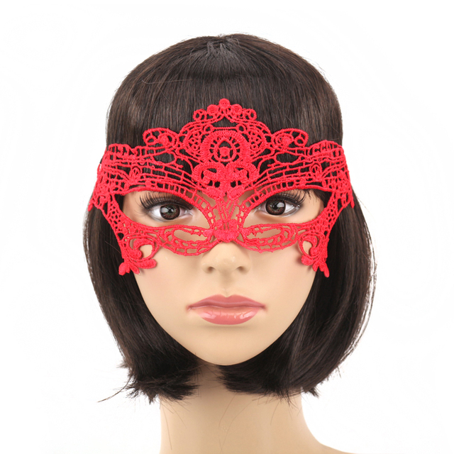 Red Lace Mask (5 Types)