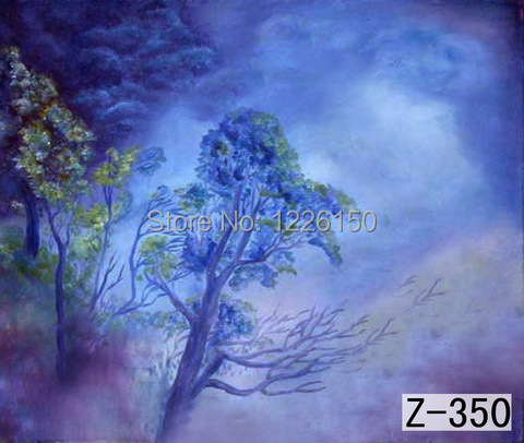 Mysterious scenic Backdrop z-350,10ft x20ft Hand Painted Photography Background,estudio fotografico,backgrounds for photo studio mysterious moonlight 10 x10 cp computer painted scenic photography background photo studio backdrop zjz 509