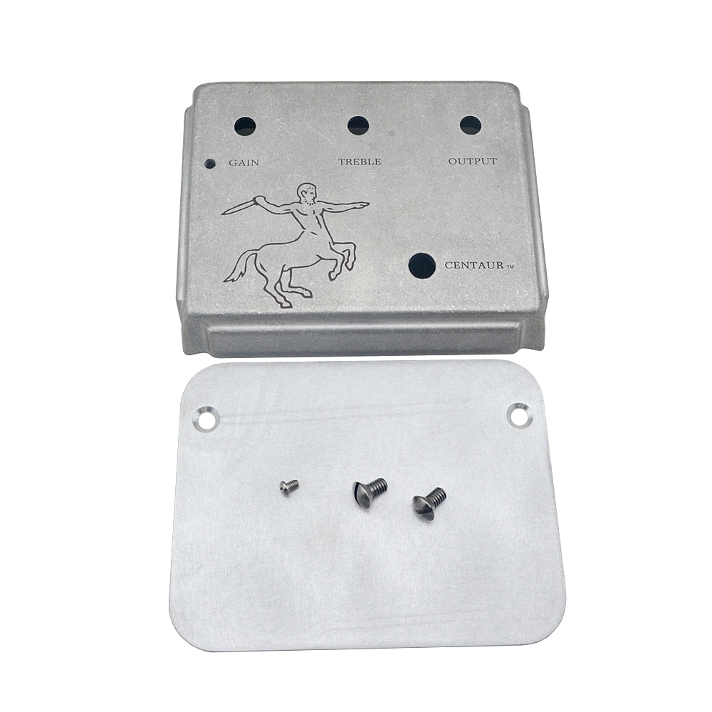 Klon Centaur Silver Professional Overdrive Guitar Effect Pedal Style Aluminum Metal Stomp Box-klon kit