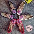 Новый Женский Китайский Традиционный Вышитые Туфли SMYXHX-D0223
