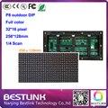 DIP p8 cor cheia ao ar livre led display module 256*128 milímetros 32*16 pixels 4S rgb LEVOU placa do painel p8 levou ao ar livre tela led sinal movente