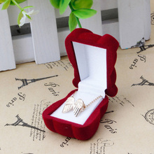 Mini Cute Bear Jewllery Gift Boxes for Rings and Small Earrings Pendant Necklace Y4QB