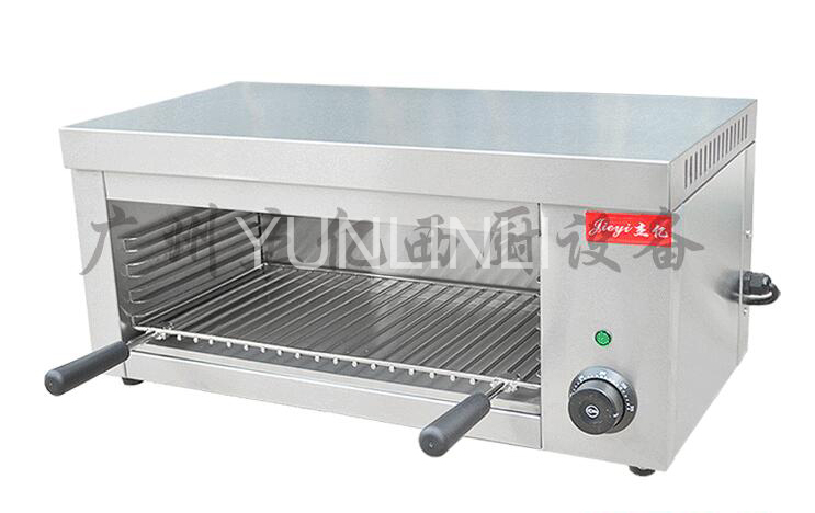FY-936 electric food oven chicken roaster Commercial desktop electric salamander grill Electric Grill commercial barbecue machine stainless steel bbq grill smokeless electric barbecue grill food oven chicken roaster fy 936