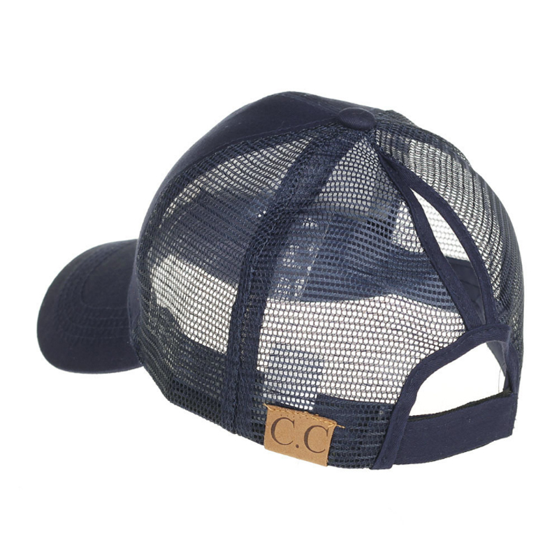 Woman's Duck Tongue Mesh Cap Europe  United States In Summer New Fashion Leisure Sunshade Tail Baseball Cap Open W042