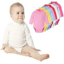 Hooyi Turtleneck Newborn Bodysuits
