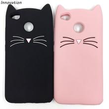 Redmi Note 4X 4A Case 3D Glitter Moustache Beard Cat Ears Phone Cover For Xiaomi mi6 mi5 mi 4 Soft Silicone Back 5