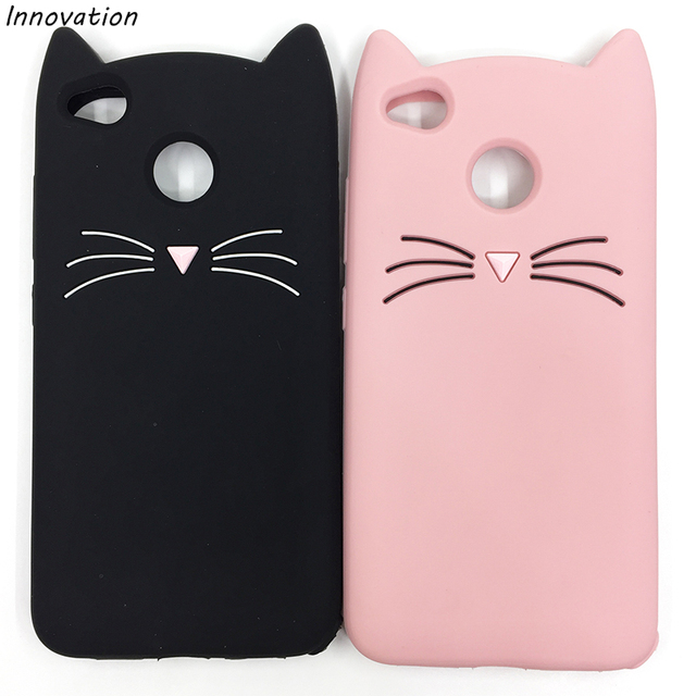 d90e7e801d0 Redmi Note 4X 4A Case 3D Glitter Moustache Beard Cat Ears Phone Cover For  Xiaomi mi6