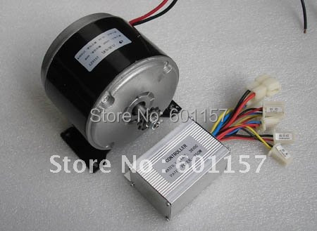 24v 300w Permanent Magnet Dc Motor And Controller Scooter