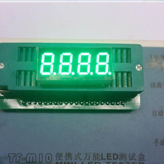 Common anode/ Common cathode 0.36 inch digital tube 4 bits digital tube led display 0.36inches Emerald digital tube Green