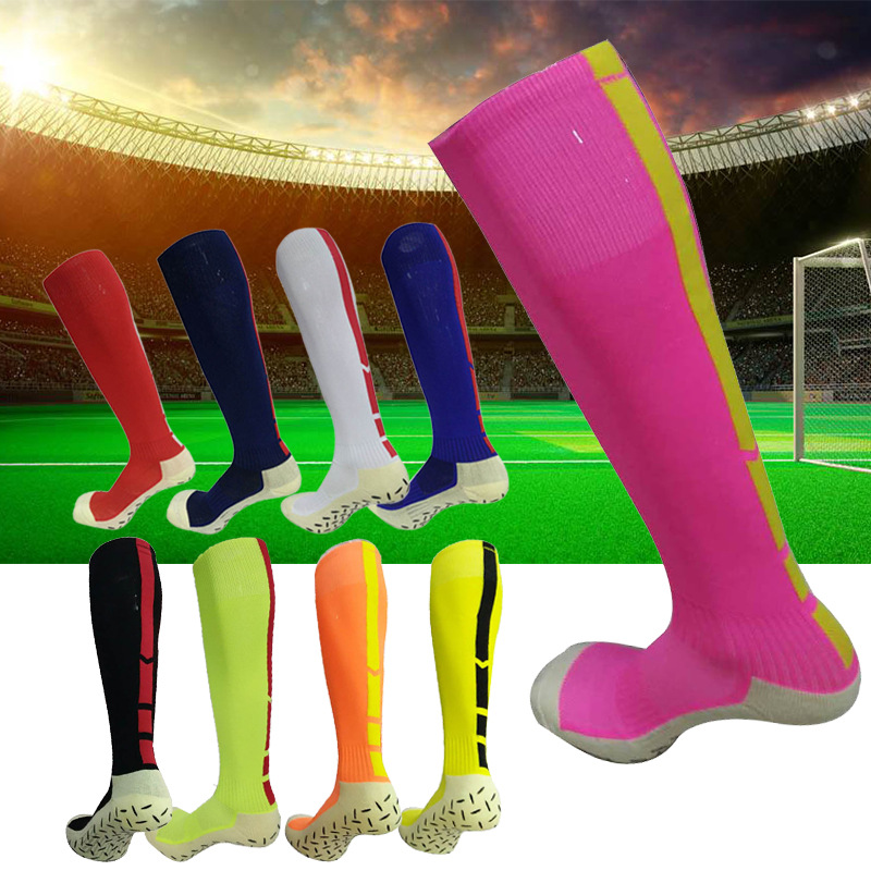 Running Socks Compression Brethable Thick Thermal Socks Anti-slid Elastic Team Sports Socks Towel Sole Jogging Cycling Socks