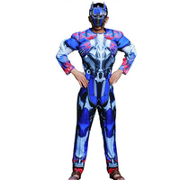 Halloween Costume Adult Boys Cosplay Costume Bumblebee Optimus Prime Adult Iron Man Costume Mask Masquerade Party Clothing