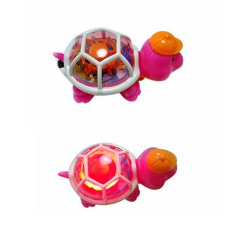 Dziecięce podświetlane zabawki świecące śliczne ciekawe do kresek Trutle edukacyjne zegarkowe upominki dla dzieci tanie i dobre opinie hengyun Z tworzywa sztucznego Other 3 lat Unisex J841 Miga 12*7*7cm