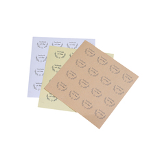 1600PCS/lot Retro Love wreath Handmade with love Label Stickers For Gift Tag Products DIY Multifunctional