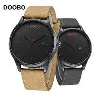 DOOBO Men S Watches Luxury Brand Sport Fashion Casual Men Quartz Watch Date Clock Male Leather