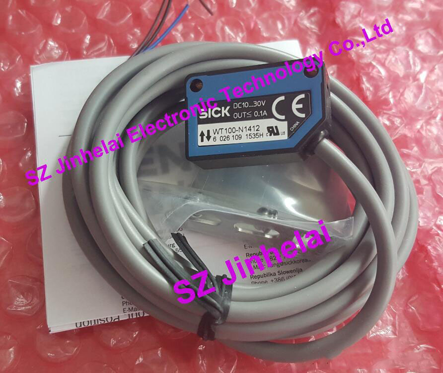 WT100-N1419 (is WT100-N1412+Stent) New and original Photoelectric switch    Photoelectric sensorWT100-N1419 (is WT100-N1412+Stent) New and original Photoelectric switch    Photoelectric sensor