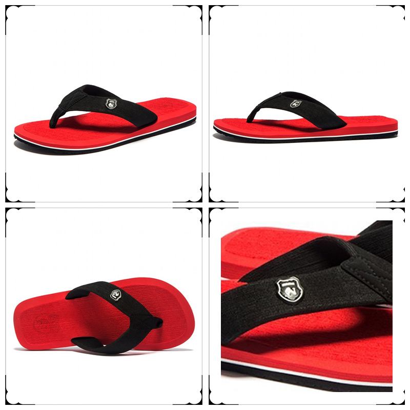 Summer Fashion Men's flip flops Beach Sandals for Men and Women Flat - Men's Shoes - Photo 2
