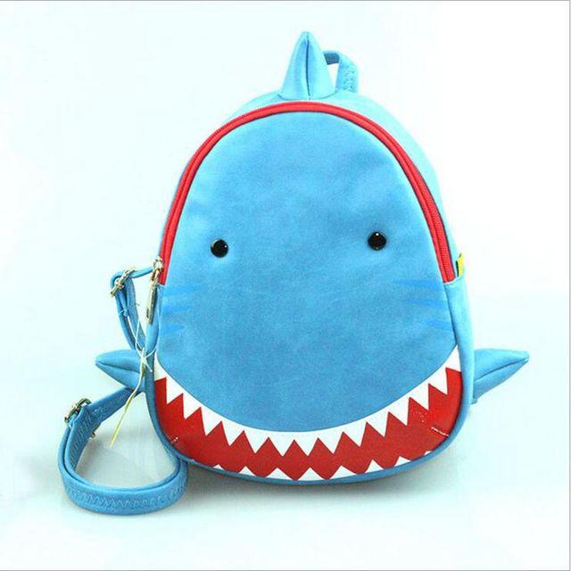 NOHOO 3D shark water proof bag animal baby child boy girl child friendly school bag children real 3D animation