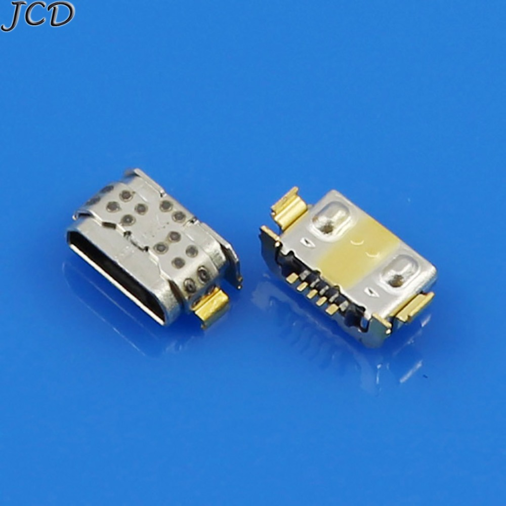 JCD 10pcs Micro USB Connector For Huawei P9 Lite G9 VNS-TL00 For Huawei Honor 5A 6X Micro USB Jack DC Charging Socket Connector