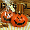 Halloween Pumpkin Scented Candle Cake Topper Casamento Art And Craft Featival Party Cake Candle Party Decoration
