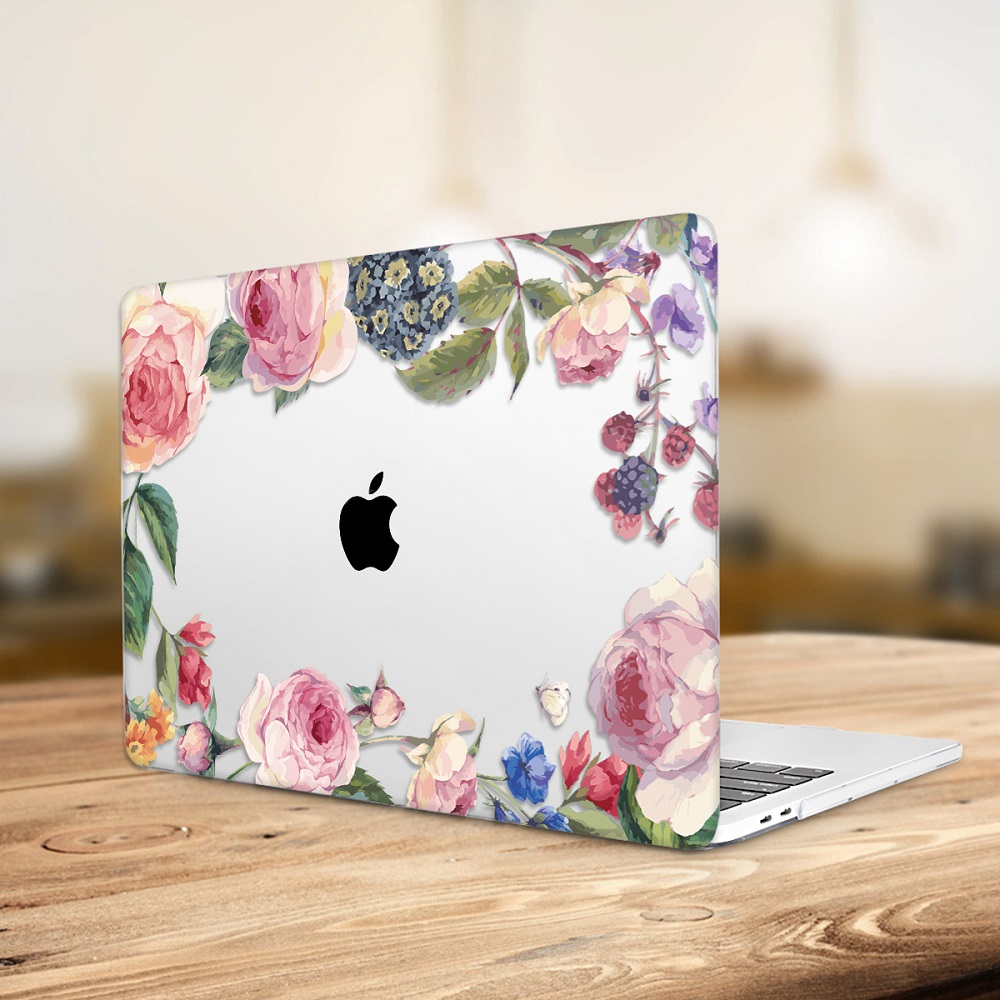 Floral Printing Hard Case for MacBook 134