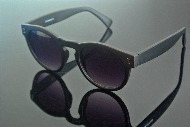 Retro óculos de Sol Pretos Óculos De Leitura Retro homem mulheres Da Moda  Aro Completo + 1693aea8cd