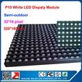 P10 indoor/outdoor 320*160mm dot matrix led display panel,high clear indoor led display,semi-outdoor dot martix module P10 white